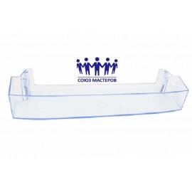 Панель передняя откидная прозрачная для холодильников Минск, Атлант 774142100800 пластик (47x18.5 см).