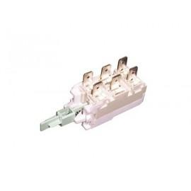 Выключатель сетевой для стиральной машины Whirlpool шестиконтактный 481941029126, Аналоги 481981729137