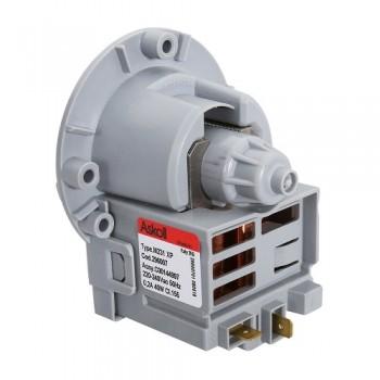 Насос сливной для стиральной машины Askoll 3 винта 40w, клеммы назад раздельно, Аналоги M19, M47, M110, M224 XP, M231 XP, M259
