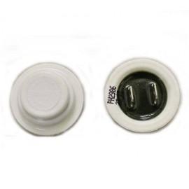 Датчик температуры для стиральных машин Ariston, Indesit (шляпка белая) 050574 185 kOm, Аналоги C00050574, 482000026739