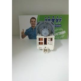 Насос для стиральной машины Askoll 3 защелки 30w 2 винта, клеммы назад в фишку, Аналоги 63AE005