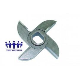 Нож мясорубки промышленной МИМ600,500 D95 посадочное 20х16,5 с буртом H18