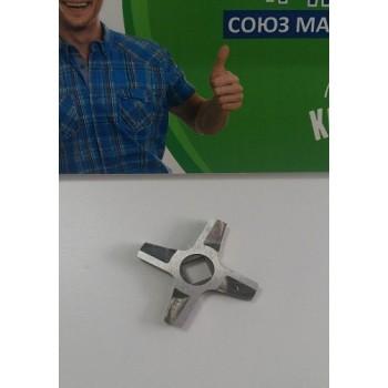 Нож для мясорубок Zelmer, Bosch D 47 мм d 9 мм h 5 мм двухсторонний 631384, Аналоги 00631384, 630749, 00630749, 757007, 00757007, 632544, 00632544, 86.1009