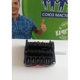 Переключатель режимов духовки с креплением под термостат для плиты CANDY 91204784, Аналоги 46.26866.818 EGO, 481227328272U, 42814660, 42814660U, COK300CY