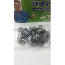 Комплект роликов нижней корзины 8шт. для посудомоечных машин Electrolux, Zanussi, AEG 50286965004, Аналоги 50269971003, 50269757006, 50286964007, 50278102004, DWB902ZN