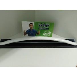 Ручка двери для духовки Лысьва белая металлическая с крепежами 42см. 03041150571, Аналоги 200.4725