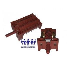 Переключатель духовки 8 позиций 16A 250V для плит, Аналоги DG34-00008A