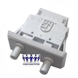 Выключатель света для холодильника Samsung кнопочный (2кнопки) DA34-00006C, Аналоги DA3400006C, DA34-10122D, DA34-10122C, DA34-10122A, DA34-10122B, DA34-10122C, DA34-10122D