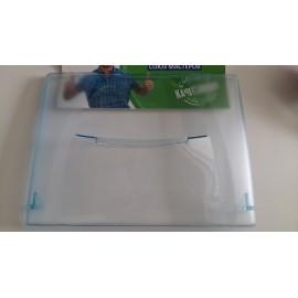 Панель фруктового ящика 245х185 мм синяя для холодильника Бирюса 0030002002, Аналоги 00.30.0020.02