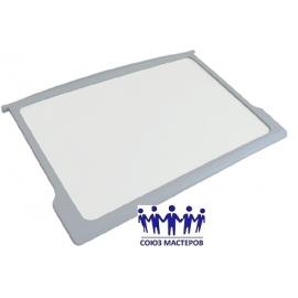 Полка для холодильника Бирюса стекло 290x520 с передним обрамлением